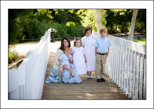 Whitfield Family Portraits in Old Poway Park