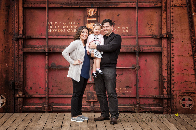 Weiss family photography in San Diego's Old Poway Park