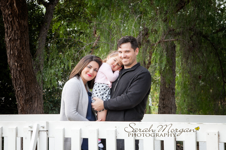 Sweet family photography in San Diego's Old Poway Park