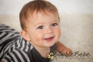 Sweet Checks Elliott. Elliott has the biggest, cutest cheeks. Mom will cherish these 9 month old portraits forever