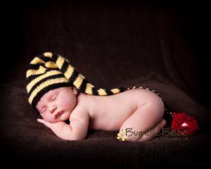 BumbleBébé newborn portraits are a hit!