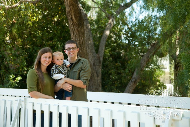 Schmit Family Portraits in Old Poway Park