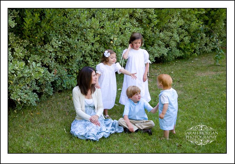 On-location family portraits