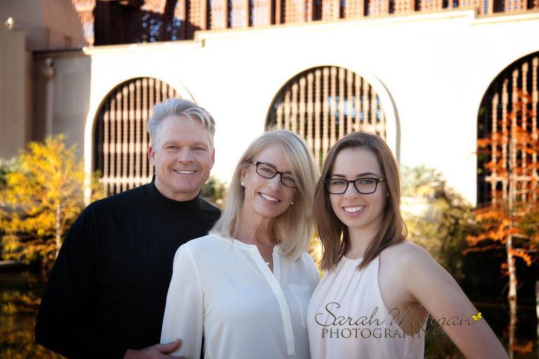Family Portrait in Balboa Park