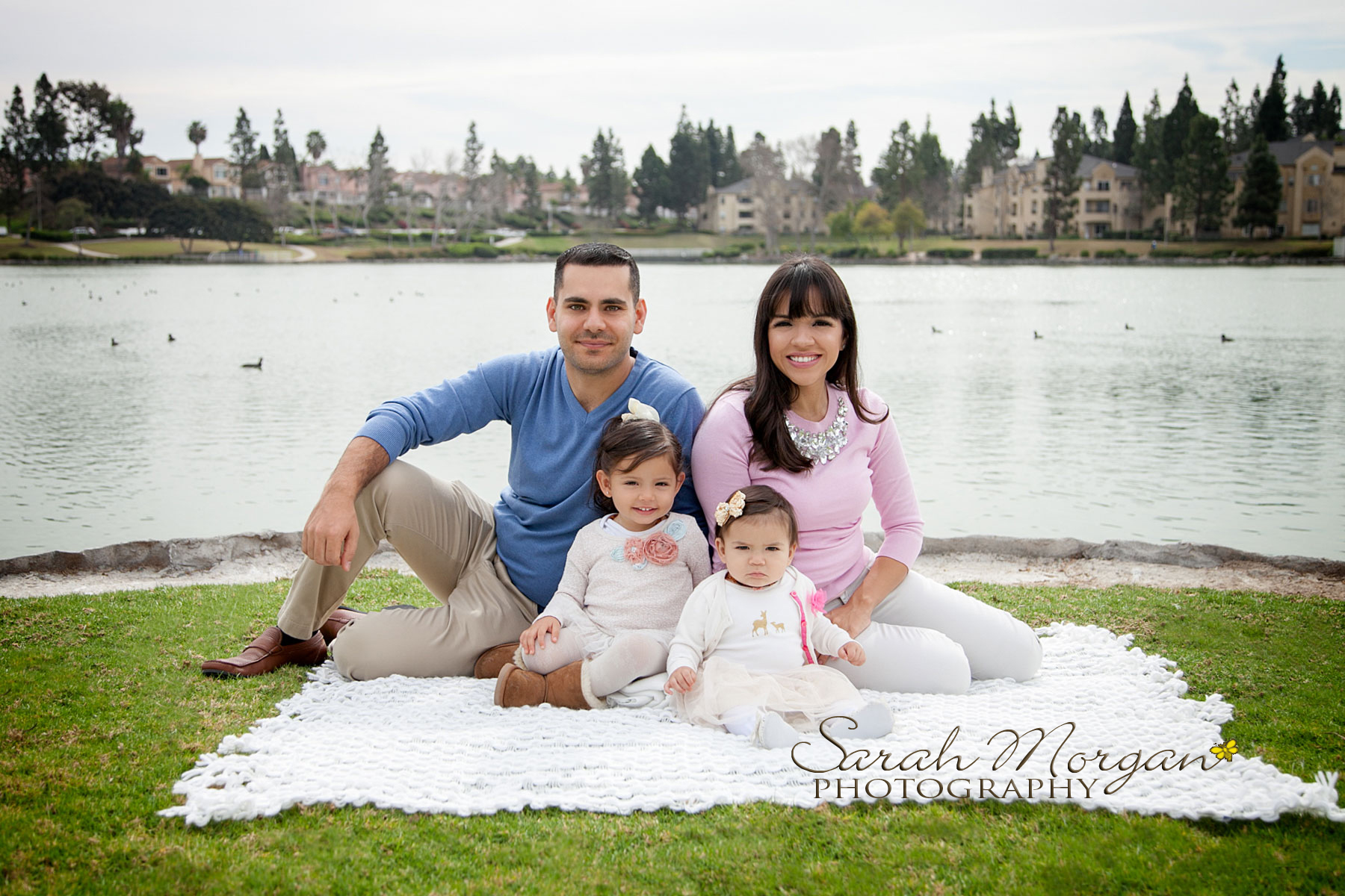 Haidao Family Portrait in Chula Vista California