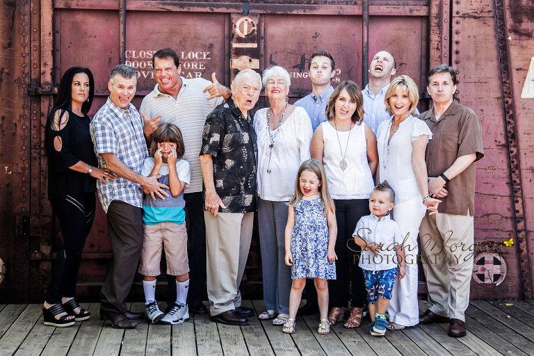 Hiden Multi-Generational Family Portrait in Old Poway Park
