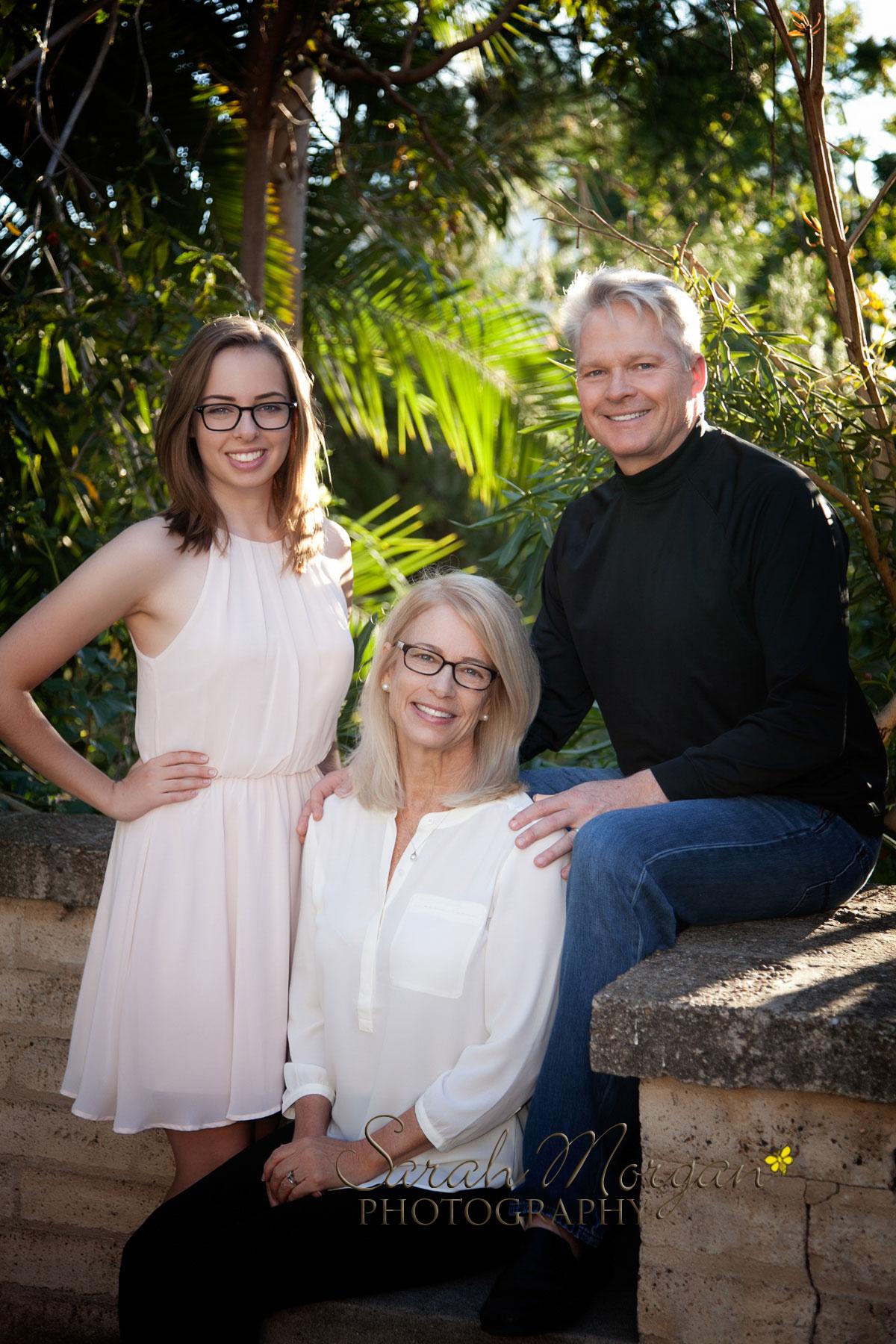 Family Portrait in San Diego's Balboa Park