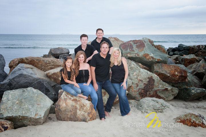 Novikoff Family Beach Portrait