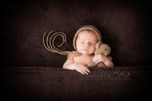 Adorable Newborn Portrait