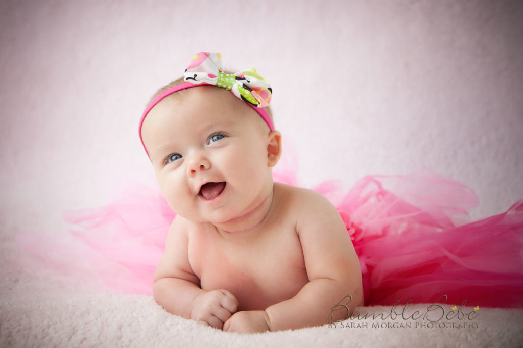 Baby Riley Paige loves to smile. She giggles and laughs and we all adore her for it.