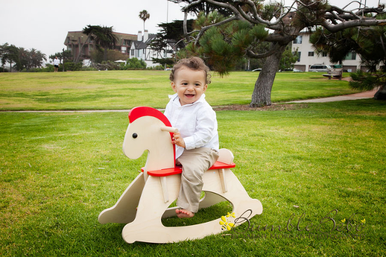 Jacob and his rocking horse