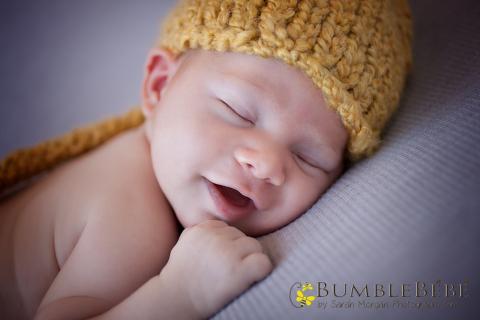 baby Jack smiling photo