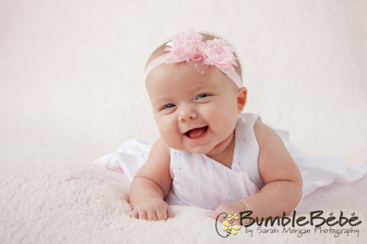Baby Riley Paige loves to entertain us with her giggles and smiles. So adorable.
