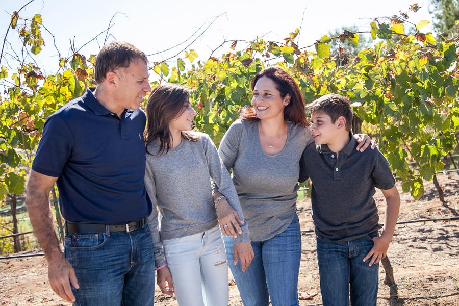 Rustemoglu Family Portrait at Ofilia Winery