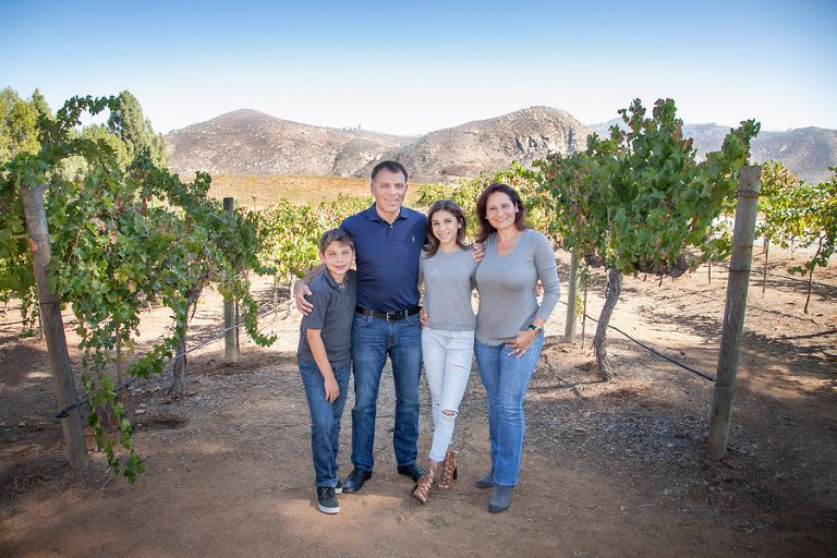 Rustemoglu Family Portrait at Ofilia Winery