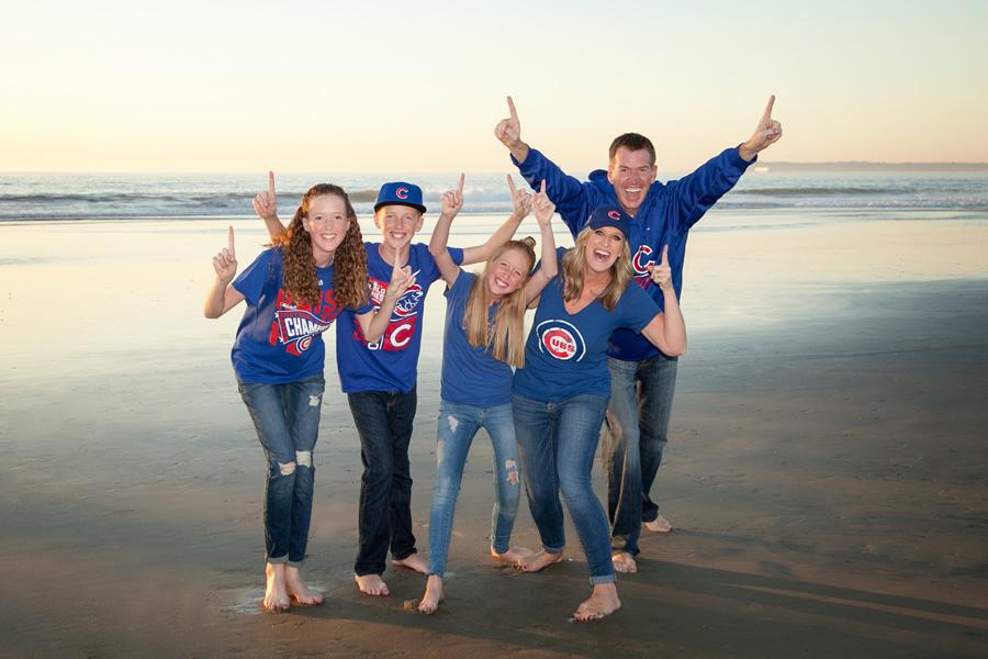 Shields family portrait ocean beach ca