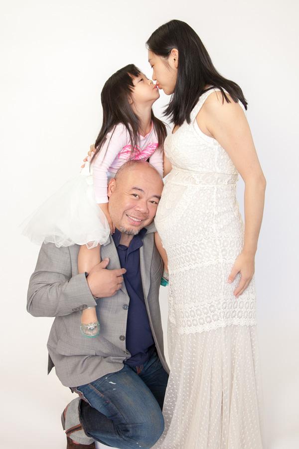 Qian maternity portraits