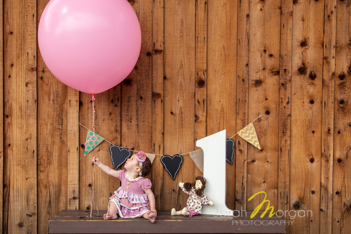 Cassidy Reemts first birthday session