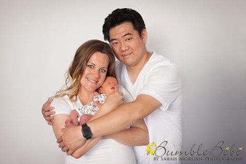 Baby Ophelia newborn portrait